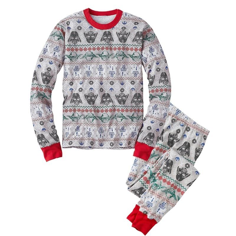 2020 Star Wars 9 Christmas Family Matching Pajamas Set Mother Father Son Long Sleeve Cotton Sleepwear Baby Mom Nightwear Pyjamas