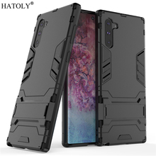 For Samsung Galaxy Note 10 Case Robot Armor Hard PC Phone Cover for Protective