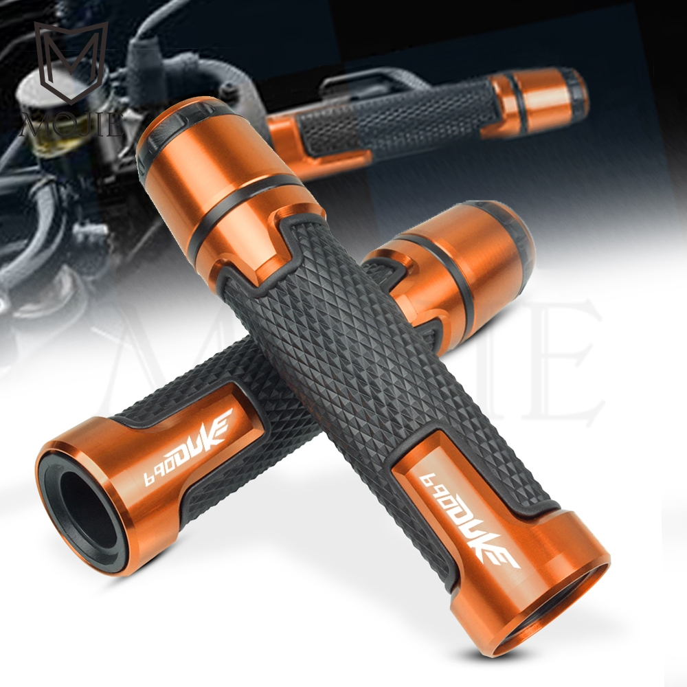 22MM Motorcycle Anti-skid Handlebar Grips Cover Slider Falling Protector Cap Hand Bar End For KTM 690 DUKE / R 2008-2018 2017