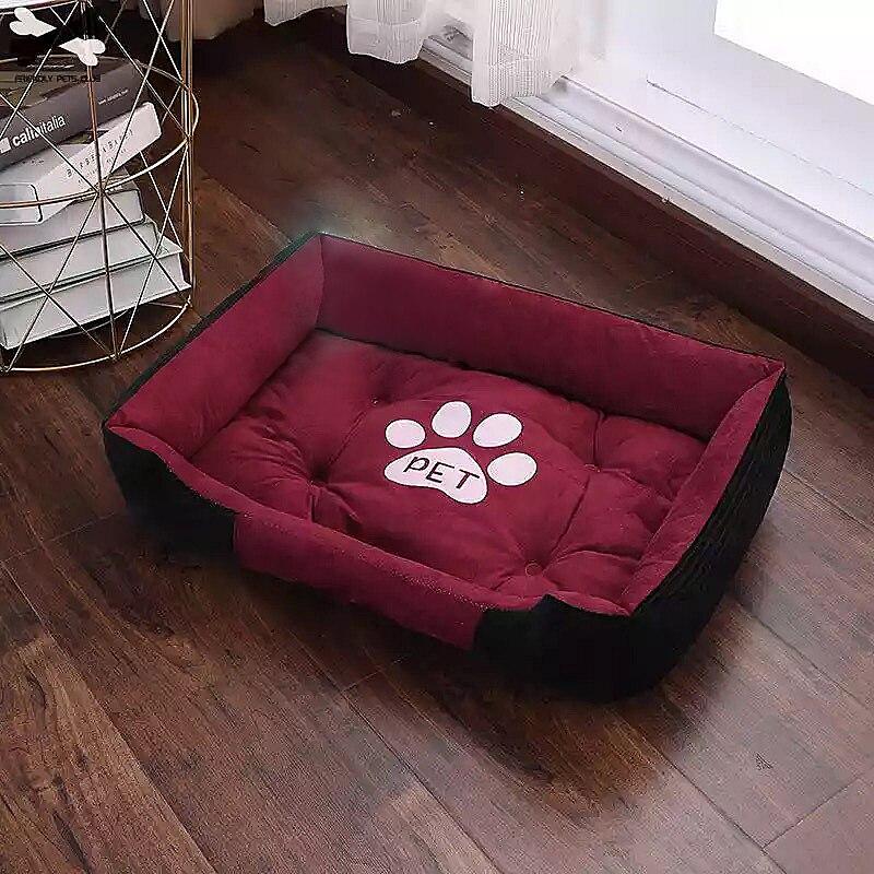 Paw Print Pet Bed
