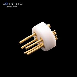 Image 2 - EIZZ conector DIN macho de 5 pines LP tocadiscos, grabador de tonos, Conector de vinilo, aislador de cobre chapado en oro de 24k, PTFE 1 ud.