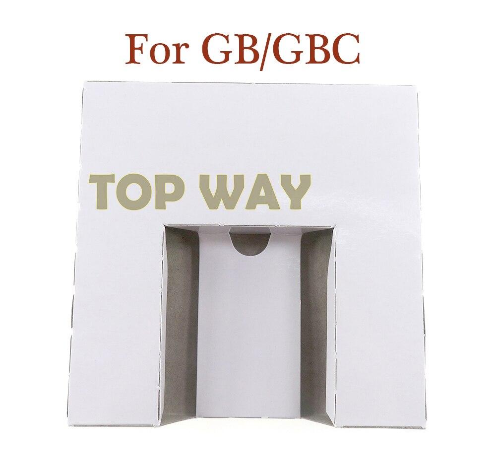 1PCS Substituição Embalagem Interna de Papelão Embutimento Bandeja de Inserção Para GB para GBC Game Cartucho EUA JP versão