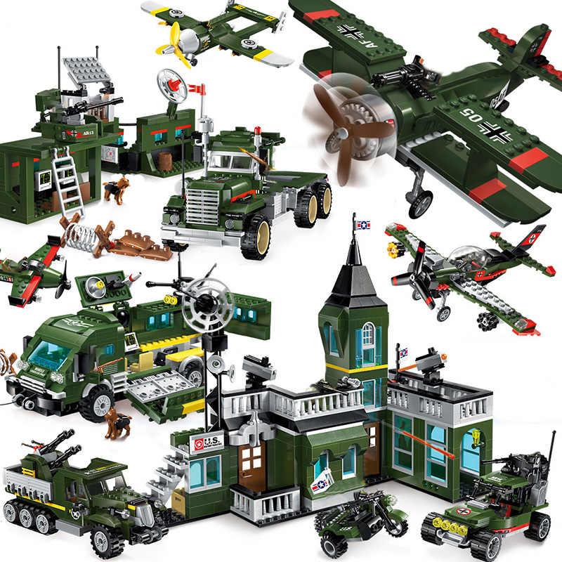 Compatible Legoing Ww2 Tank World War 2 II Military Vehicle