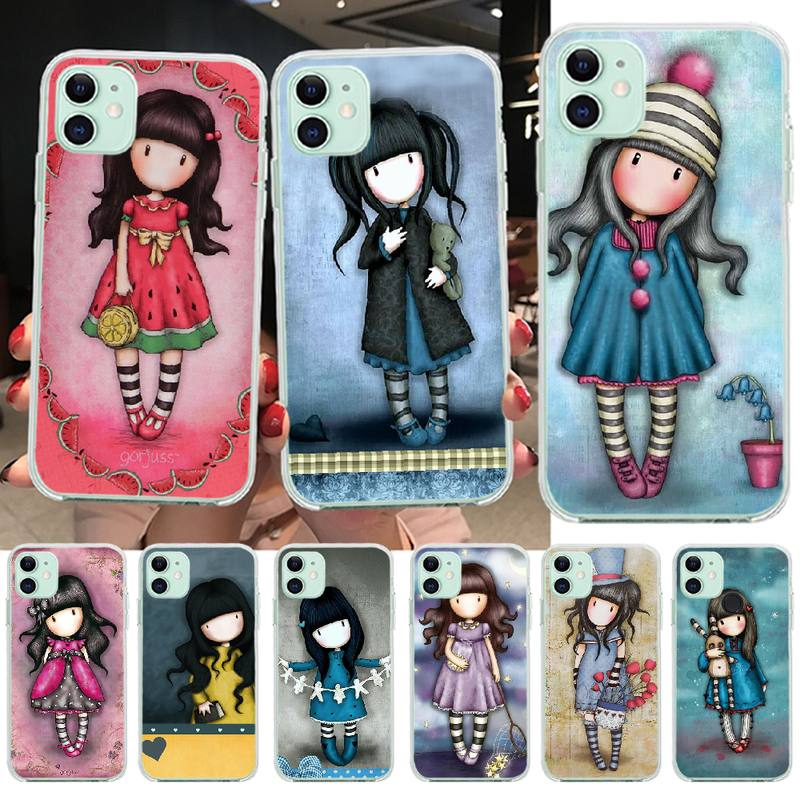 PENGHUWAN Cartoon Lovely Santoro Gorjuss Custom Photo Soft Phone Case for iPhone 11 pro XS MAX 8 7 6 6S Plus X 5S SE XR cover(China)