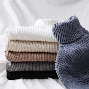 GUMPRUN Winter Women Knitted Turtleneck
