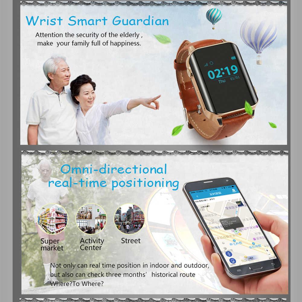 696 A16H Elder Smart Watch Phone Heart rate detection SOS+GPS+WIFI+LBS IP56 waterproof 450mAh  Elderly special watch For parents