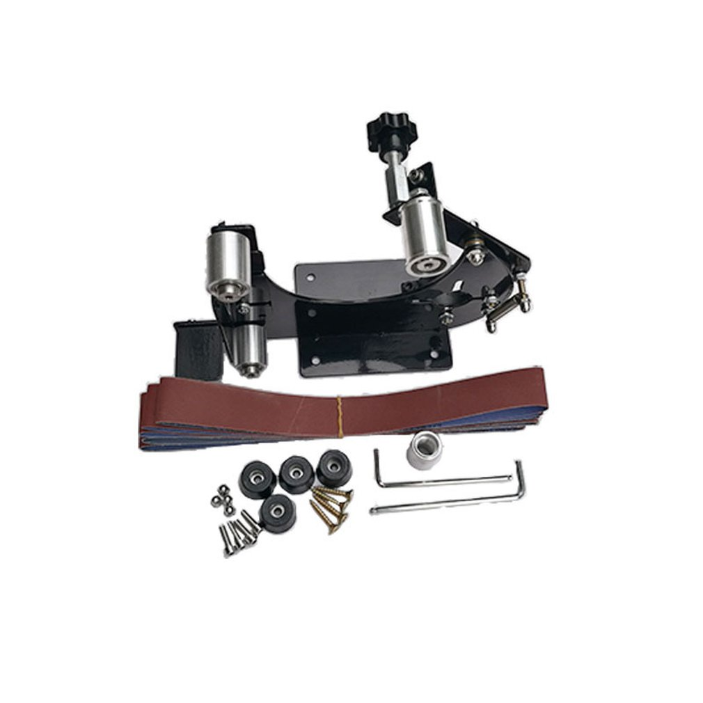Electric Iron Angle Grinder Polisher Sanding Belt Adapter For 100/115/125/150 Grinder For Sanding Grinding Polishing Machine