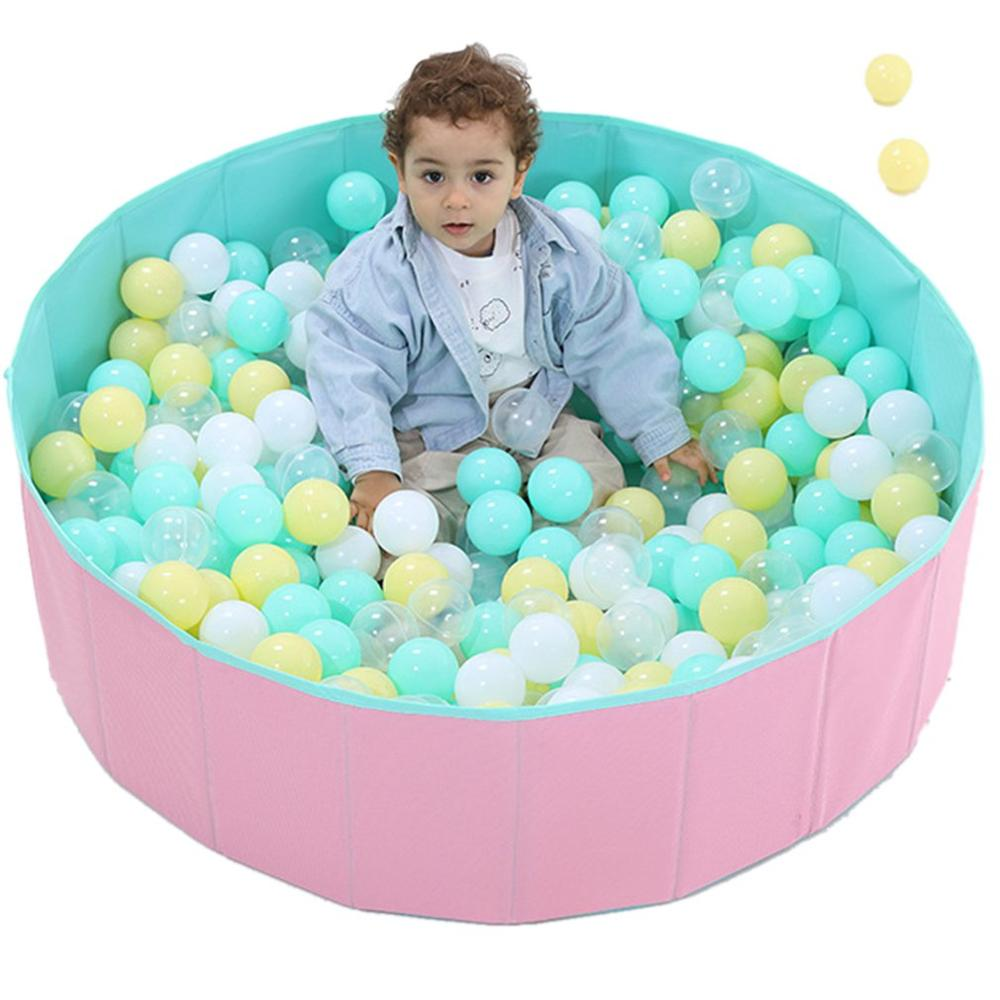 Baby Ocean Ball Pool Tent Play Game Tipi Fencing Manege Camp Round Pool Pit  Without Ball Foldable  Playpen Toys For Kids Gift