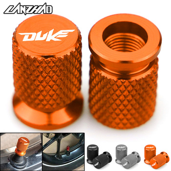 Duke Мотоцикл с ЧПУ Алюминиевый обод для шины воздушный порт крышка шины клапан колеса ствол крышка Пылезащитная Крышка для KTM Duke 125 200 250 390 690