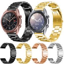 Браслет из нержавеющей стали для samsung galaxy watch 3 41 мм