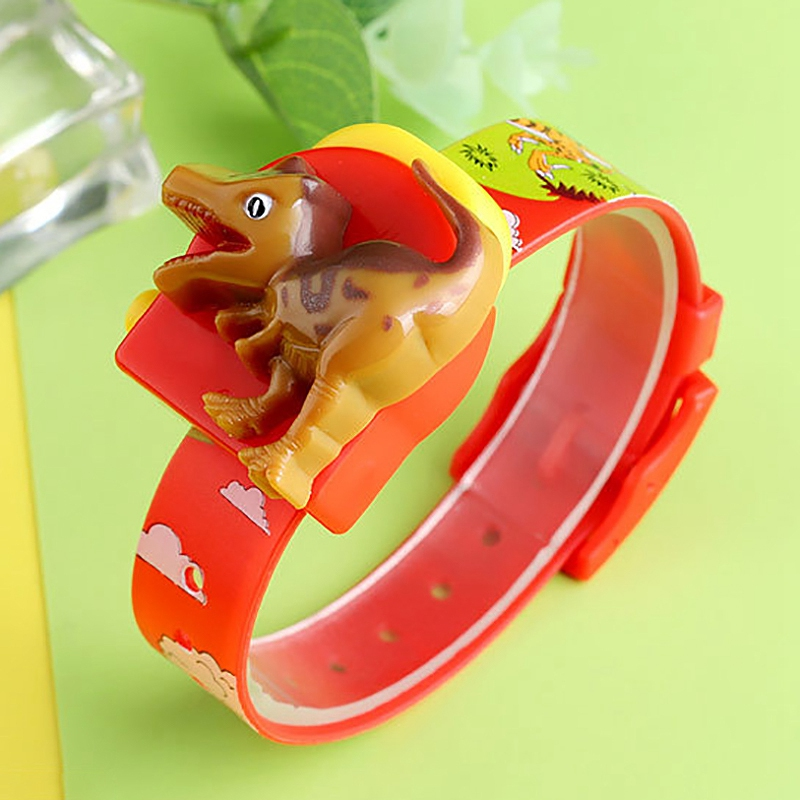 SKMEI Dinosaur Kids Watches Cartoon Digital Design PVC Strap Children Watch for Boys Girls LED Display Fashion Clock