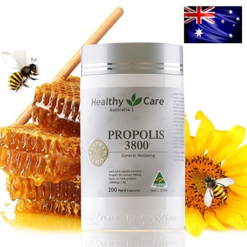 Healthy Care Premium Propolis Capsules 3.8g Vitamins Minerals Royal Jelly Immunity Health and Wellness Products Food Supplements