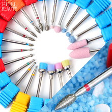 1pc Diamond Nail Drill Bit Cutters For Manicure Removing Gel Varnish Eletric Burr Milling Cutter Pedicure Manicure Tool CHGS/M/S