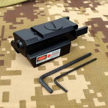 1 мВт мини Красный лазерный прицел 20 мм рельсовый пистолет Вивер Пикатинни прицел тактический компактный лазерный указатель страйкбол пистолет для охоты