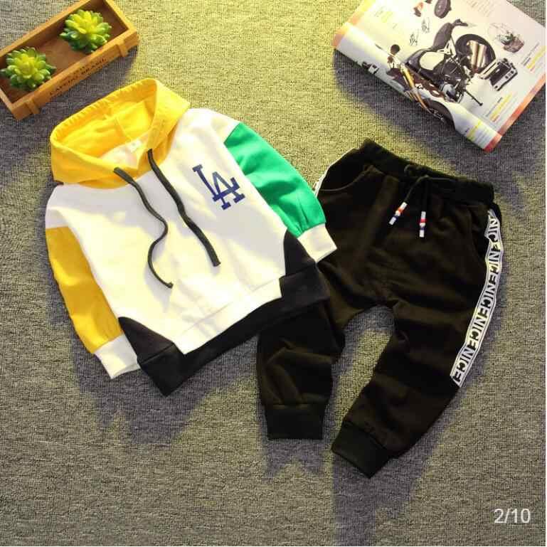 Marka dzieci odzież dla niemowląt zestaw dla chłopców jesień wiosna moda chłopiec zestaw garnitury dzieci ubrania dla dzieci sportowe zestawy na co dzień