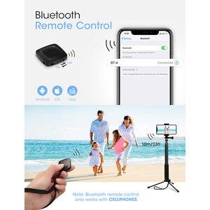 Image 2 - Mpow 074 Bluetooth Selfie Bastone Estensibile Selfie Bastone Treppiede Built In GoPro Connettore Treppiede Staccabile Del Basamento Per Il Telefono Selfie