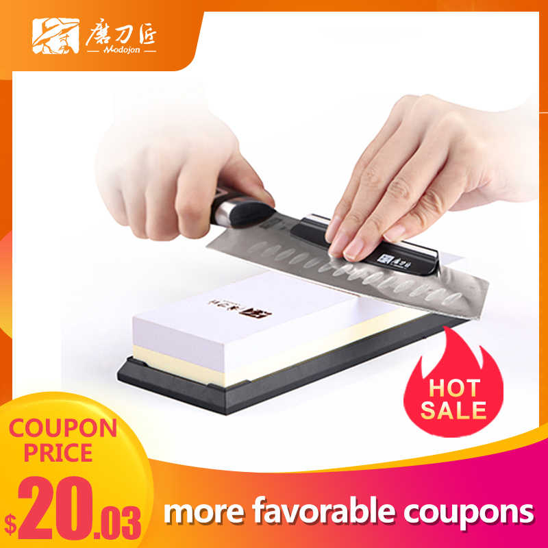 GRINDER 2-in 1 Kitchen Sharpening stone 3000/1000 Grit double-side Whetstone  TAIDEA T6310W  knife sharpener