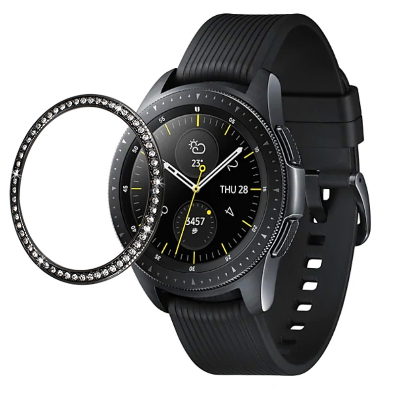 Smart Watch Cover For <font><b>Samsung</b></font> Galaxy Watch <font><b>46mm</b></font> 42mm Watch Cover for Galaxy Gear S3 Frontier Classic Crystal Watch Cover Luxury image