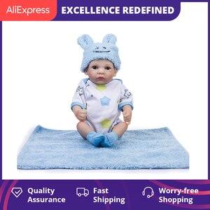 Новейшие 10 дюймовые Мягкие силиконовые детские куклы, детские игрушки, моющиеся Bebes Reborn, куклы для маленьких девочек, рождественские игрушк...