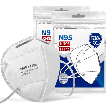 800PCS Face Masks 5 Laye Mask Dust Protection Masks Filter Face Masks Elastic Ear Loop Dust Filter Safety Mask Anti-Dust