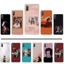 Harry Stijlen Liefde Op Tour Star Printing Phone Case Cover Shell Voor Iphone 4 4s 5 5s 5c Se 6 6 S 7 8 Plus X Xs xr 11 Pro Max(China)