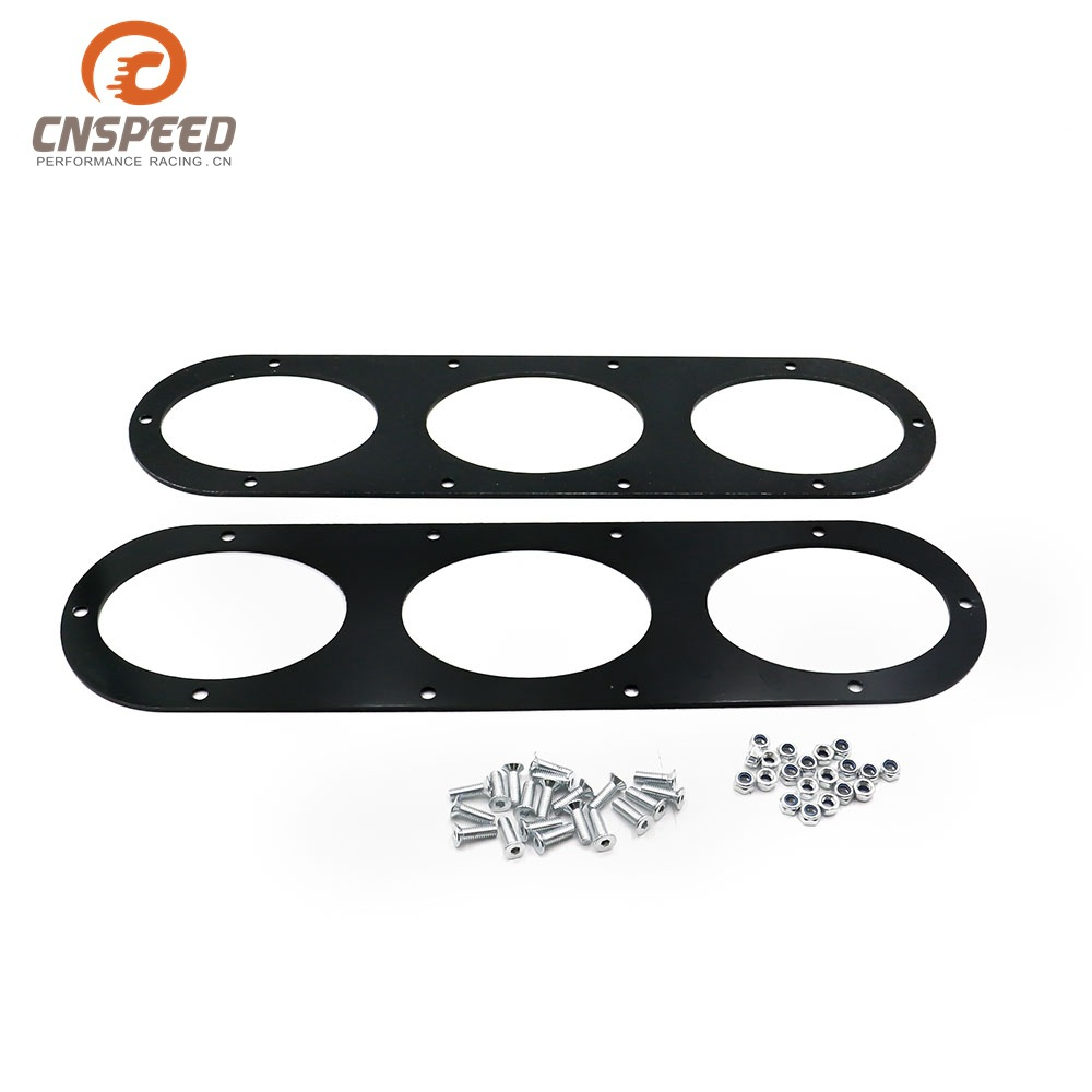 Car Modified Car Universal Bumper Deflector Air Diffuser Baffle (Three-Hole)