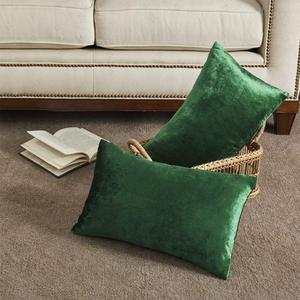 2 Packs Green Decorative Cushi