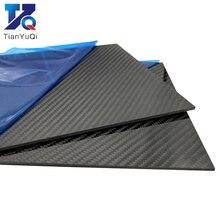 400x500 мм 0,5 мм 1 мм 2 мм 3 мм 4 мм 5 мм толщина настоящая 3K пластина из углеродного волокна листы высокой композитной панели для материала высокой твёрдости для RC
