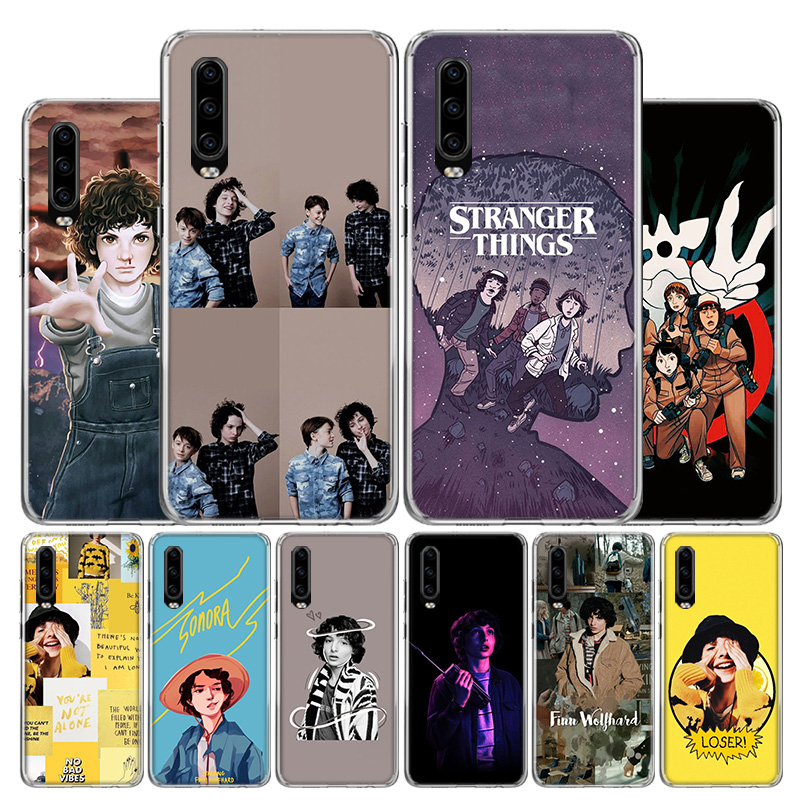 Finn Wolfhard <font><b>Stranger</b></font> <font><b>Things</b></font> <font><b>Phone</b></font> <font><b>Case</b></font> For <font><b>Huawei</b></font> P30 P40 <font><b>P20</b></font> P10 Mate 30 20 10 P Smart Z <font><b>Lite</b></font> Pro Plus + 2019 Cover Coque She image