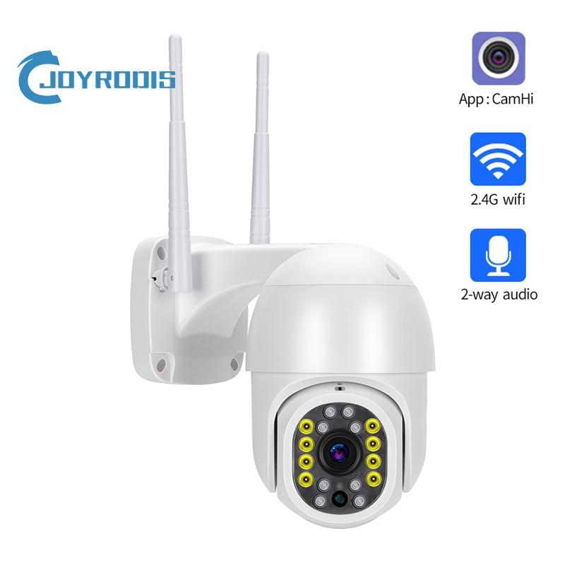 1080p ptz wifi câmera ip ao ar livre 4x zoom digital ai humano detectar h.265 p2p onvif áudio 2mp câmera de segurança cctv sem fio camhi