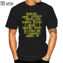 2020 New hot men's summer men's casual short sleeved T-shirt Juice Crew Old School Golden era Hip Hop mind map T-shirt