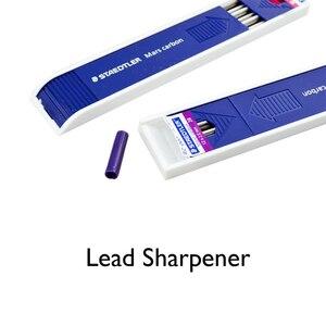 Image 4 - Lifemaster staedtler mars carbono, lápis mecânico, 200 2.00mm, recarga de chumbo, design de grafite preto