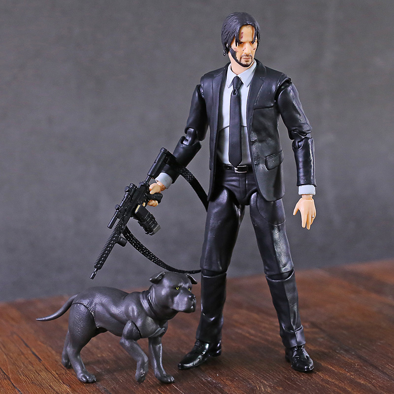 Toys For Kids JOHN WICK Action Figure Hot Chapter Mafex 085 Scale Children GIFT
