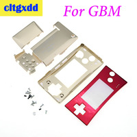 cltgxdd 4 in 1 metal Housing Controller Shell Pack For Nintendo GameBoy MICRO G B M Game Consoles Case Cover Replacement