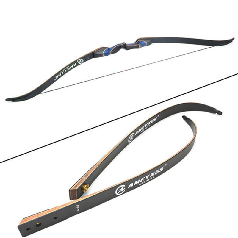 1set 56 quot Recurve Bow And 6pcs Carbon Arrow Set 20 55lbs Fit Beginner Youth Right Hand Bow Hunting Shooting Archery Accessories in Darts from Sports amp Entertainment