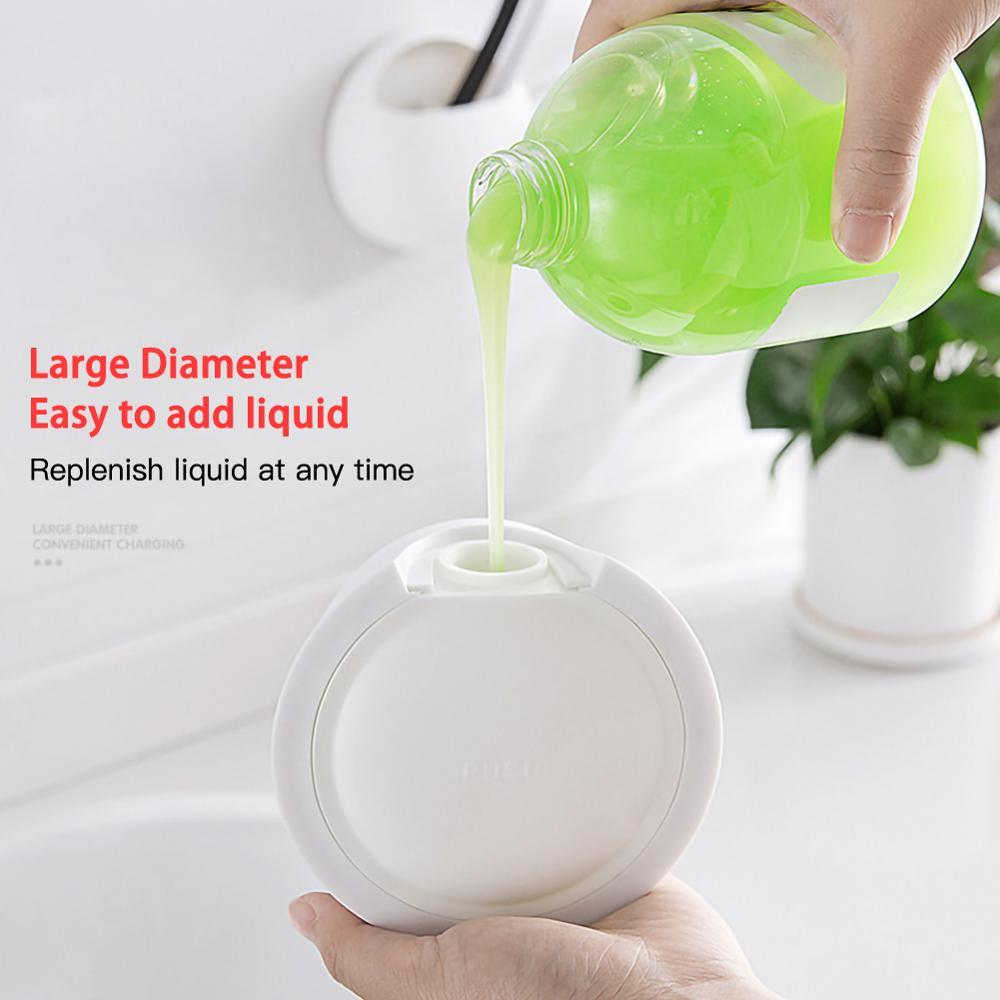 Настенный гель для душа шампунь бутылка давления ванная комната дезинфицирующее средство для рук бутылка бутылка лосьона ванны жидким туалет