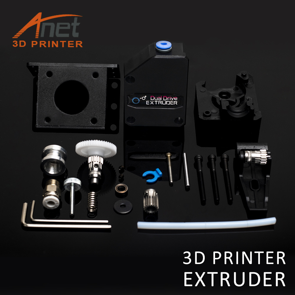 Anet 3D Printer Parts Bondtech BMG Direct Extruder Clone Dual Drive Exturder 1 75mm Filament For Anet A8 CR 10 3D Printer