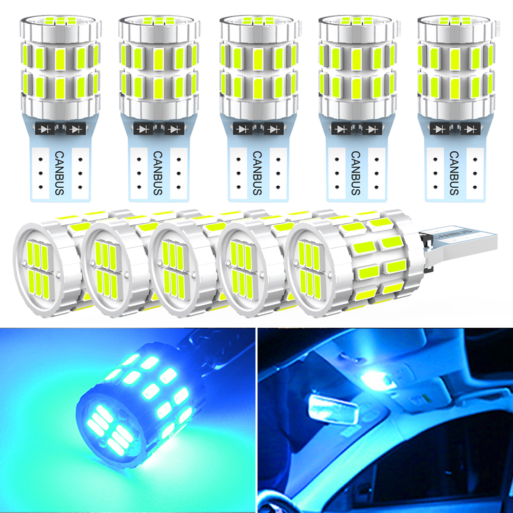 5w5 T10 W5W 194 LED Car Canbus Bulb led for Peugeot 206 406 508 307 406 3008 Accessories Interior Dome Light Reading Lights