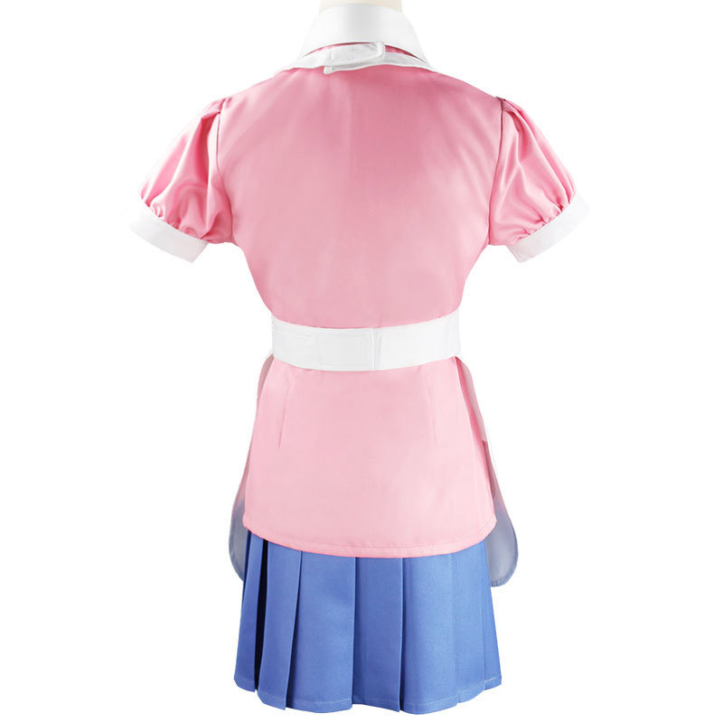 Danganronpa Mikan Tsumiki Cosplay Costume Ultimate Nurse Cafe Maid Uniform For Women