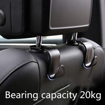 4pcs Car Seat Back Bag Hanger Hook for RENAULT Laguna Megane Clio 3 Scenic Duster Logan Clio 4 Sandero Scenic 2 Captur Accessory