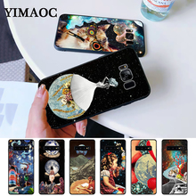 Trippy Art aesthetic Space astronaut Silicone Case for Samsung S6 Edge S7 S8 Plus S9 S10 S10e Note 8 9 10 M10 M20 M30