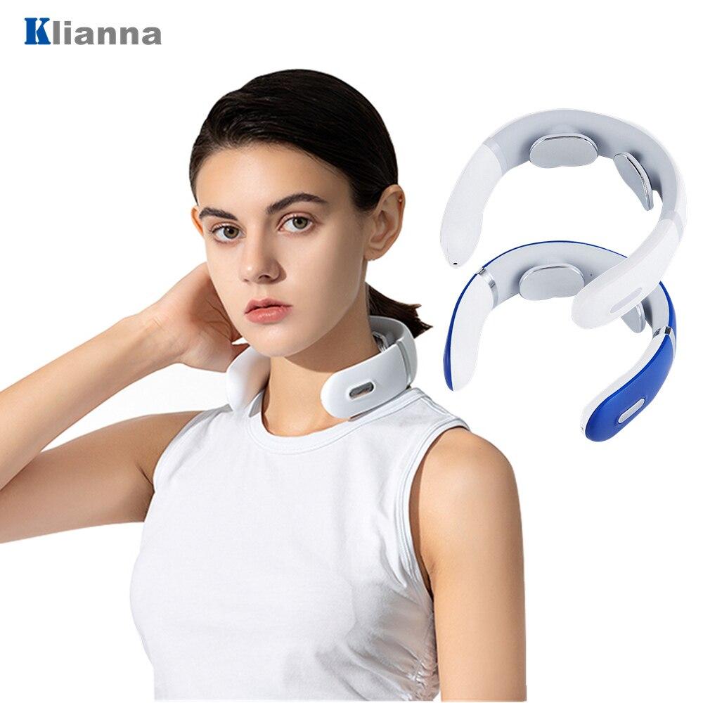 Купить массажер для шеи и плеч с инфракрасным подогревом 6 режимов