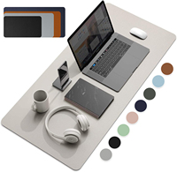 Talla grande de oficina escritorio Protector de cuero de la PU cojín de ratón a prueba de agua XXL juegos de escritorio Mouse Pad PC accesorios envío gratuito