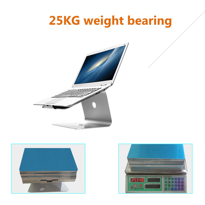 cheapest Aluminum Tablet Laptop Stand Notebook Holder For Macbook Air Pro Notebook Support Cooling Pad Mount For HP Dell