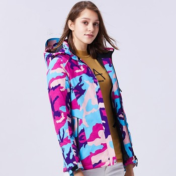 HOT Plus Size 10XL Winter Warm Jacket Women Men Waterproof Windproof Camouflage Skiing Camping Hiking Coat Outdoor Windbreaker