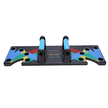 Push Up Rack Board 9 System Men Women Comprehensive Fitness Exercise Workout Push-Up Stands Body Building Training Gym
