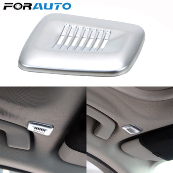Car Interior Roof Dome Microphone Cover Trim For BMW F30 F32 F07 F10 F15 F12 F25 X3 X5 3 4 5 6 Series ABS Car Accessories image