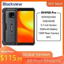 Blackview – smartphone, BV4900 Pro, ram 4 go, rom 64 go, 5580