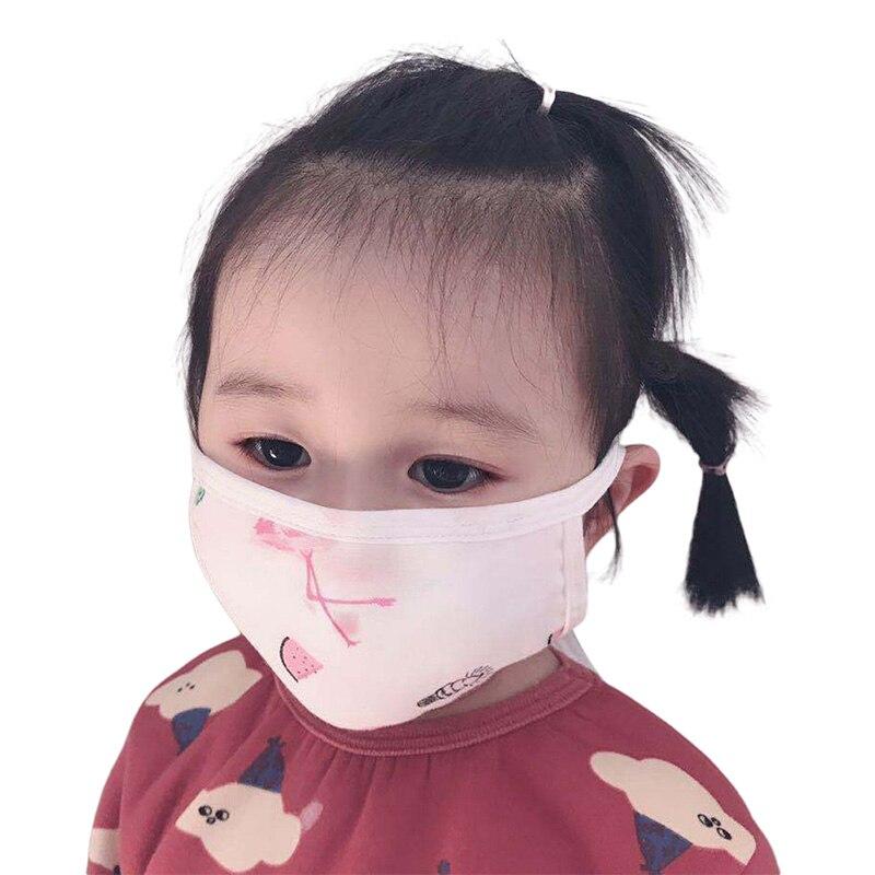 Baby Child Cartoon Mask Cotton Anti-somg COVID-19 Virus Kids Gauze Mixed Dustproof Protective Mask