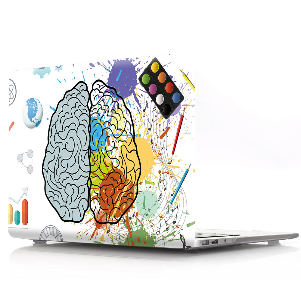Brain Painting Case for MacBook 136